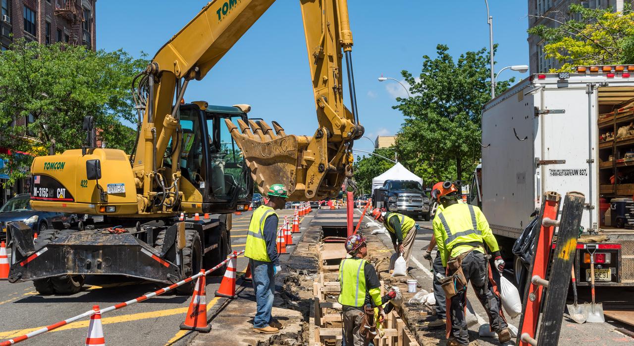 Con Edison Bronx Gas Pipeline Installation - BOND
