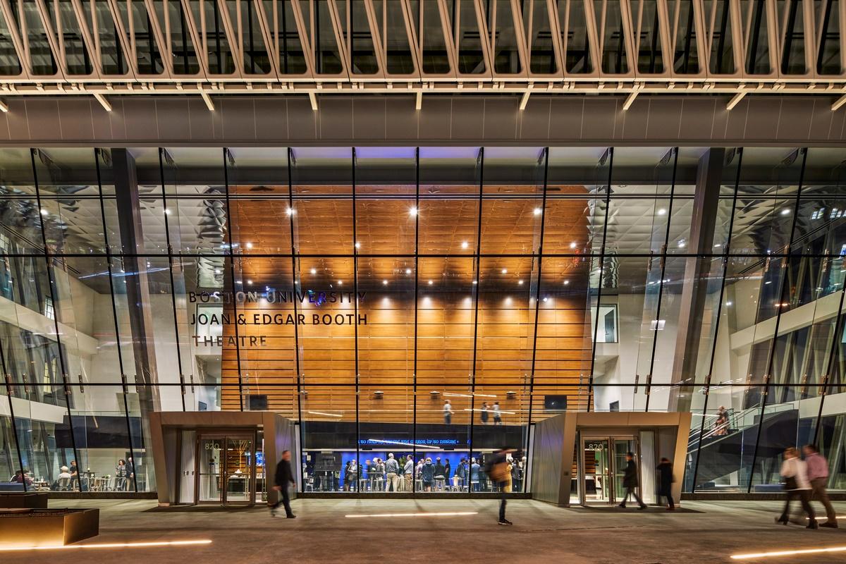 bond wins cmaa award for boston university joan edgar booth