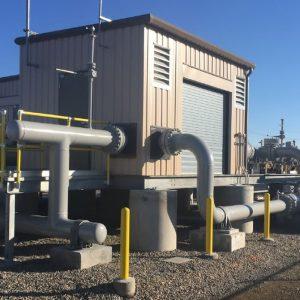 Bayonne Energy Center, Meter Station