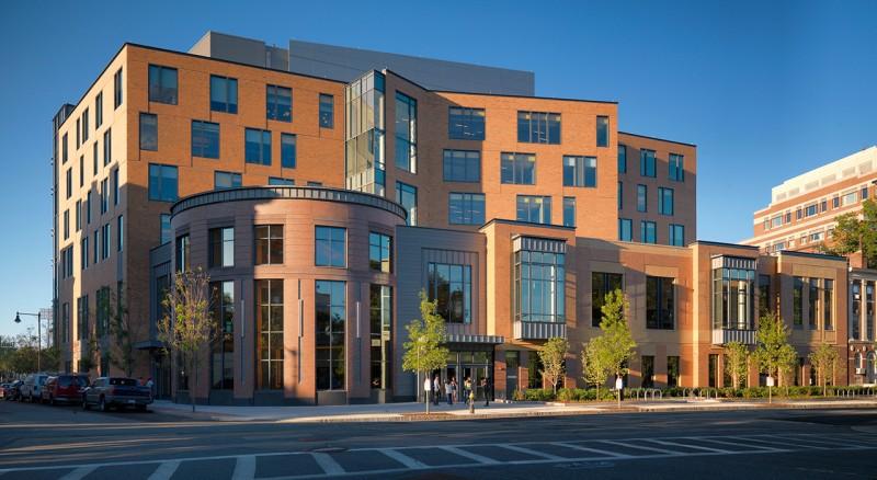 Boston University Center for Student Services Construction