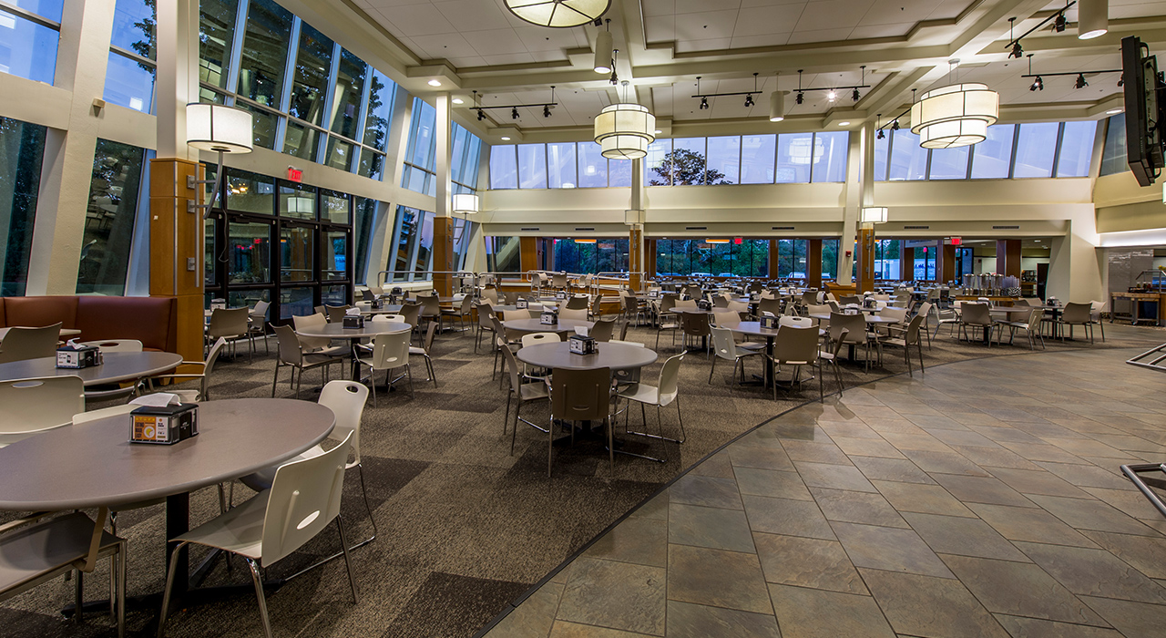 Bryant University, Salmanson Dining Hall Construction