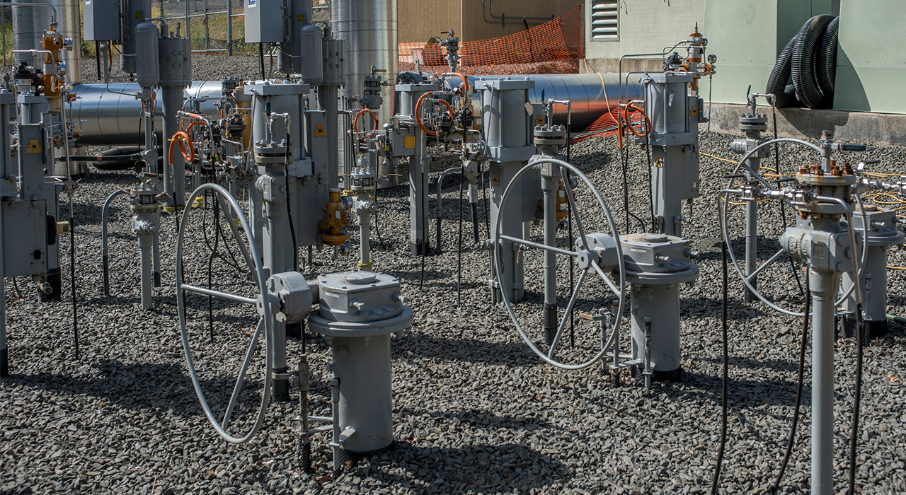 Columbia Pipeline Group (CPG) Ramapo Meter & Regulator Station