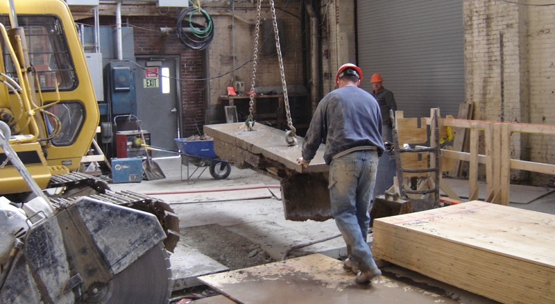 Harvard Blackstone Steam Plant Construction