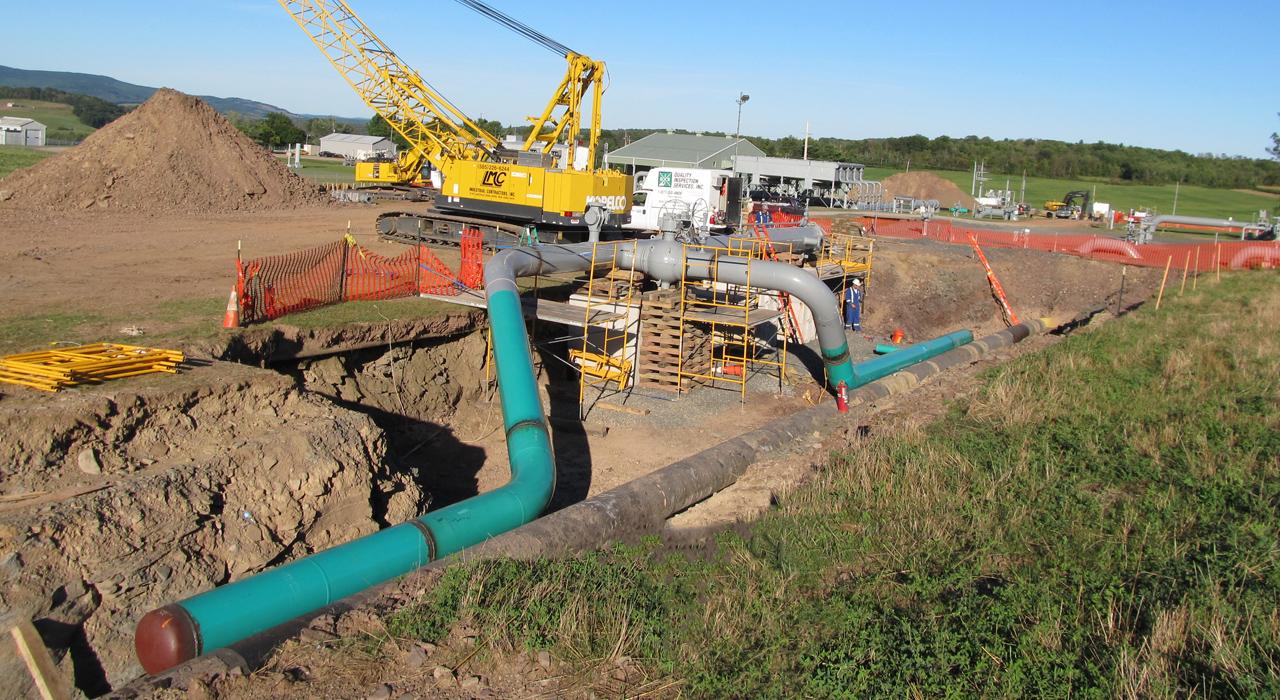 Kinder Morgan Station 317 Dual Bi-Directional Pig Trap Installation