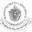 Massachusetts Historical Commission Preservation Award