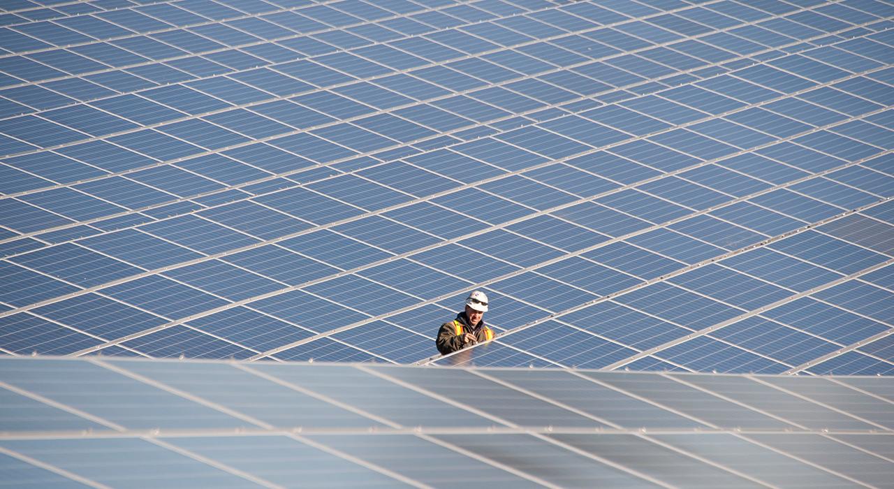 National Grid, Solar Arrays Dorchester Construction