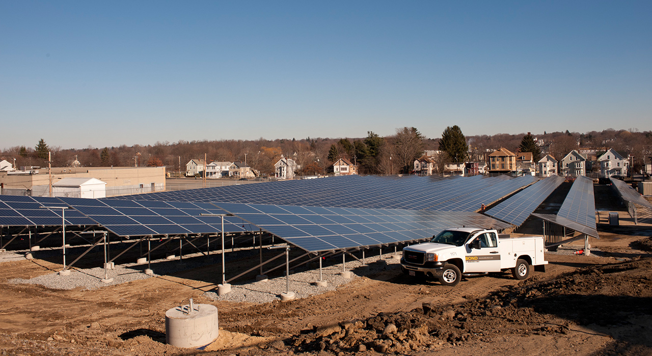 National Grid, Solar Arrays Haverhill