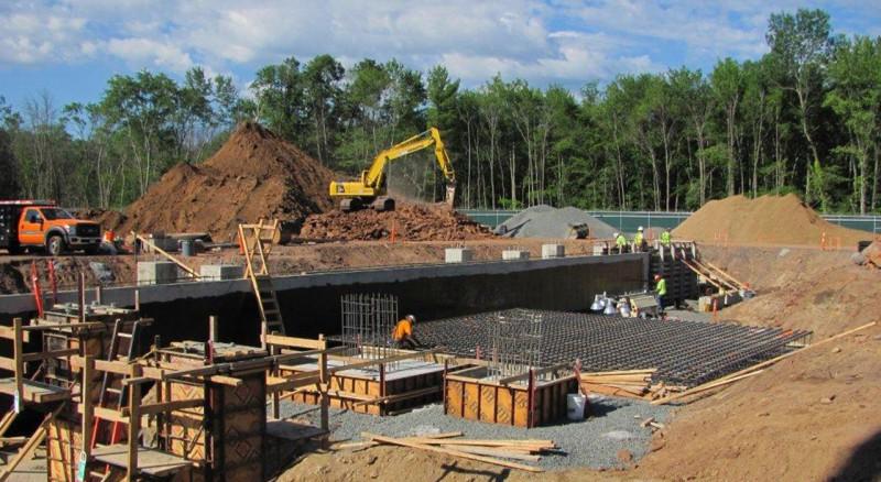 Northeast Utilities, North Bloomfield Substation Construction