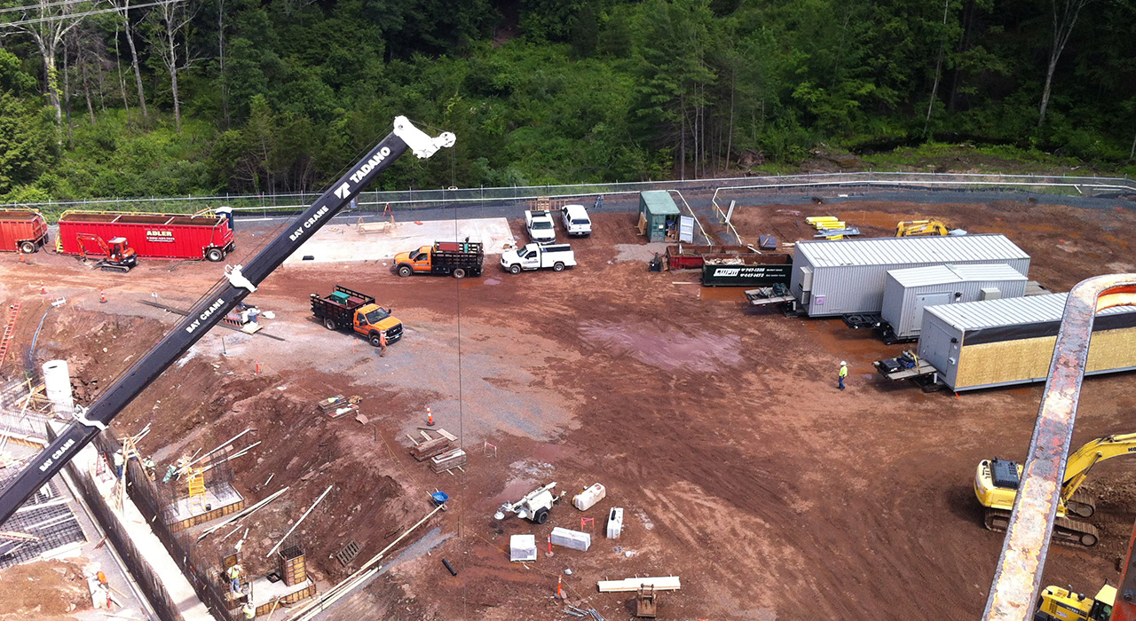 Northeast Utilities, North Bloomfield Substation Construction