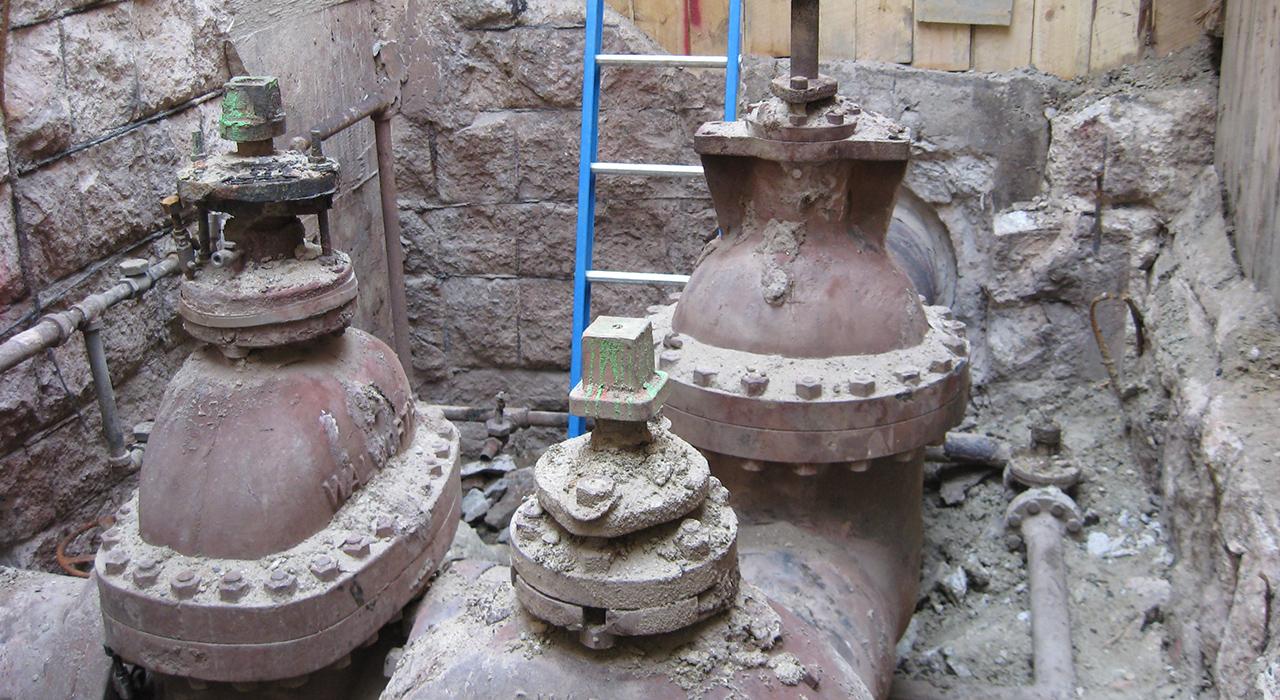 Veolia Steam Manhole Construction