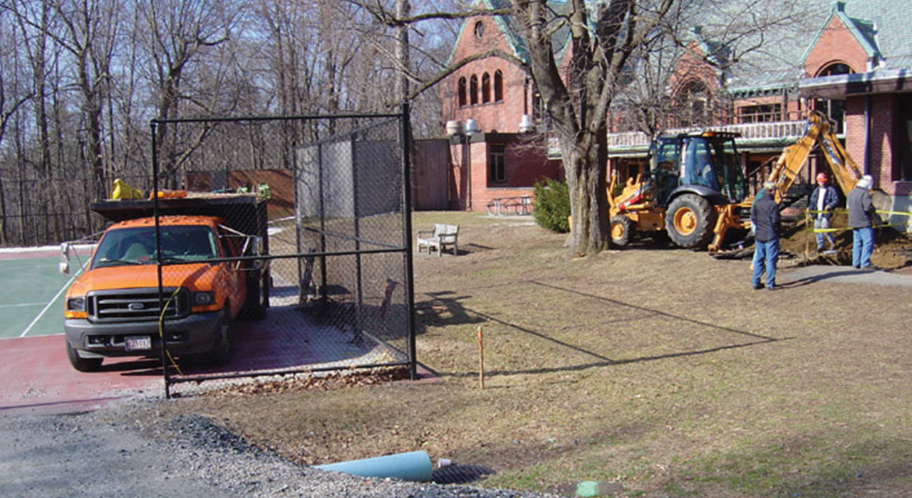 Wellesley College Utility Infrastructure Upgrade Construction
