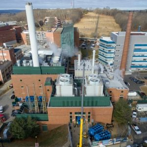 University of Connecticut, Central Utility Plant (CUP)