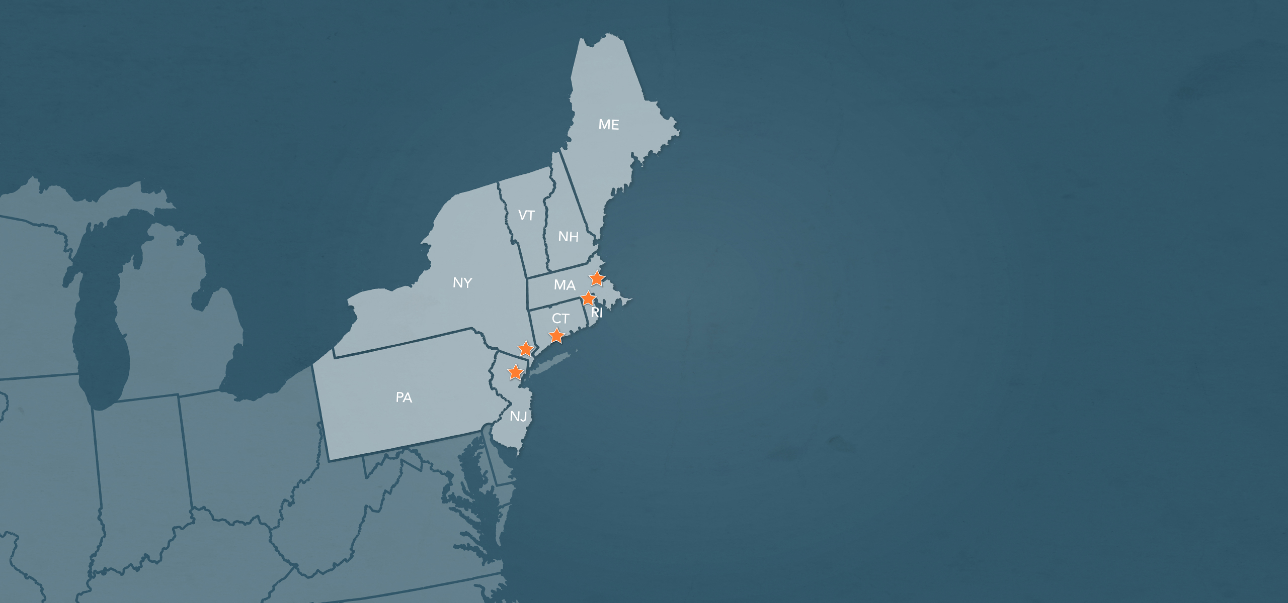 Our Regions in the Northeast